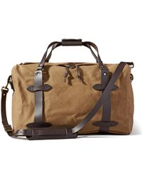 Filson Medium Rugged Twill Duffle Tan - Natural