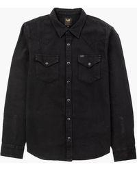 Lee Jeans - Lee Western Shirt Black - Lyst