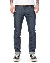 Lee Jeans Rider Jeans Slim Dry Indigo Selvage 13.5oz - Blue