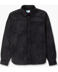 Japan Blue Jeans Paisley Bandana Shirt Black