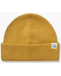 Merz B. Schwanen Mwbn05 Merino Beanie Corn - Yellow