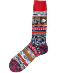 Chup Jarvi Sock Candy - Red