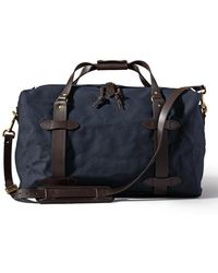 Filson Medium Rugged Twill Duffle Navy - Blue