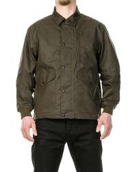 Filson Cover Cloth Aberdeen Work Jacket - Green