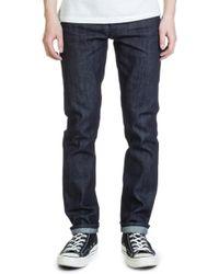 Nudie Jeans - Nudie Jeans Grim Tim Dry Ink Selvage 13.5oz - Lyst