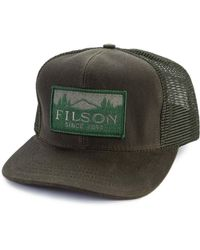 Filson - Logger Mesh Cap Otter Green - Lyst