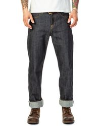 Lee Jeans Z Jeans Dry Indigo Selvage 13.75oz - Blue