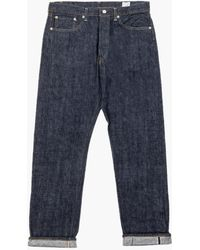 Orslow Standard Fit Jeans 105 One Wash - Blue