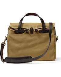 Filson Original Briefcase Tan - Brown