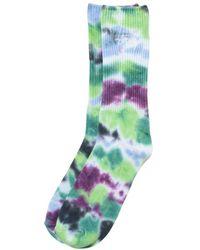 Stussy Tie Dye Socks Blue - Green