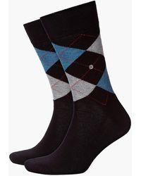 Burlington King Socks Black