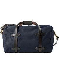 Filson - Small Duffle Bag Navy - Lyst
