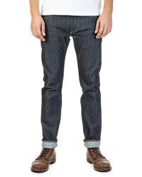 Lee Jeans Rider Jeans Slim Dry Indigo Selvage 14oz