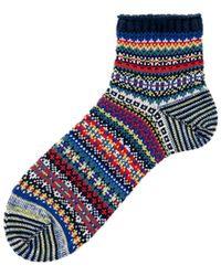 Chup Majbrasa Sock Navy - Blue
