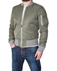 Schott Nyc - Bomber Jacket Ac Khaki - Lyst