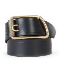 Bleu De Chauffe Maillon Belt Black