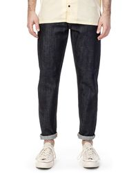 Nudie Jeans Nudie Jeans Steady Eddie Ii Dry Colours - Blue