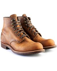 Red Wing 3343d Blacksmith Copper Rough & Tough - Brown
