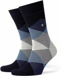 Burlington - Clyde Socks Dark Navy - Lyst