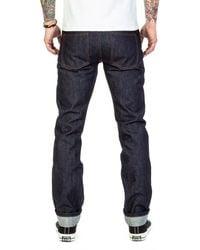 The Unbranded Brand Ub101 Skinny Fit Selvedge Indigo 14.5oz - Blue