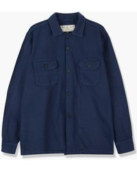 Rogue Territory Infantry Shirt Navy Overdyed - Blue