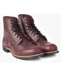 Red Wing 8119d Iron Ranger Oxblood Mesa - Red
