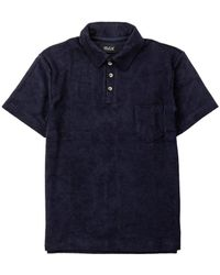 Howlin' By Morrison Mr Fantasy Polo Tee Navy - Green