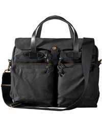 Filson 24-hour Tin Briefcase - Black