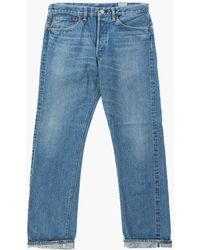 Orslow Standard Fit Jeans 105 2 Year Wash - Blue