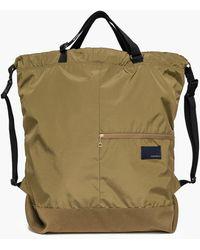 Nanamica N 2way Shoulder Bag Beige - Natural