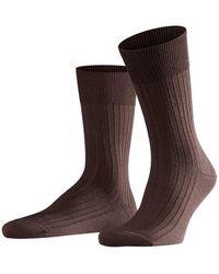 Falke - Bristol Pure Men Socks Brown - Lyst