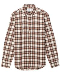 Portuguese Flannel Brownie Flannel Shirt Brown