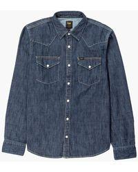 Lee Jeans - Lee Western Shirt Blueprint - Lyst