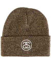 902a85e8647 Stussy Ss-link Cuff Beanie in Black for Men - Save 35.0% - Lyst