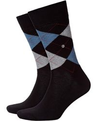Burlington King Socks Black