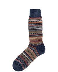 Chup Montana Sock Indigo - Blue