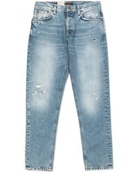 Nudie Jeans Nudie Jeans Steady Eddie Ii Favorite Worn - Blue