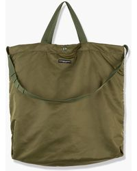Engineered Garments Carry All Tote Flight Satin Nylon Olive - Green