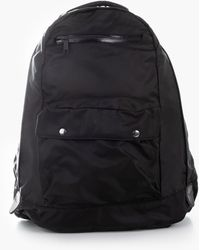 F/CE Recycled Twill Type A Town Backpack Black
