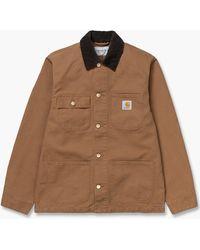Carhartt WIP Michigan Coat Hamilton Brown/tobacco Rinse