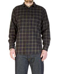 Filson - Lightweight Alaskan Guide Shirt Black - Lyst