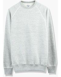 Orslow - Crew Neck Sweater Grey - Lyst