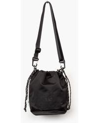 F/CE - Satin Drawstring Bag Black - Lyst