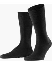 Falke - Airport Socks Black - Lyst