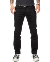 Lee Jeans - Rider Jeans Slim Dry Black Selvage 13oz - Lyst