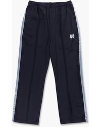 Needles S.l. Seam Pocket Pant Bright Jersey Navy - Black