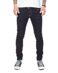 Nudie Jeans Skinny Lin Deep Orange L32 - Blue