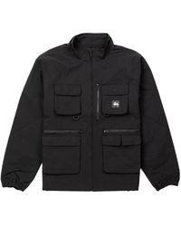 Stussy Utility Jacket Black