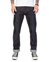The Unbranded Brand Ub222 Tapered Fit Stretch Selvedge 11oz - Blue