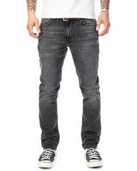 Nudie Jeans - Nudie Jeans Lean Dean Mono Grey - Lyst